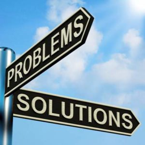 signpost to problems and solutions